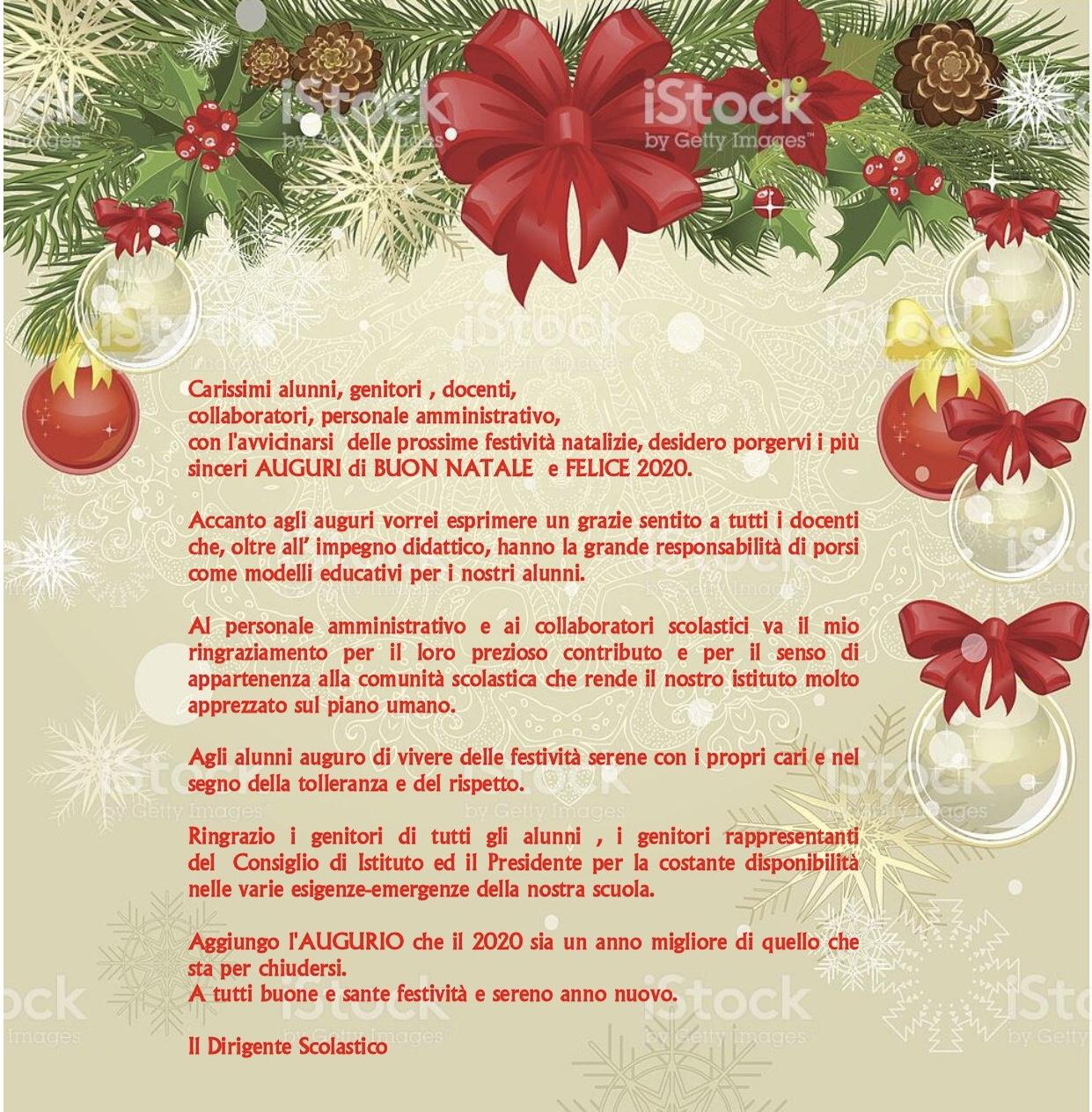Auguri di Buon Natale e Felice Anno Nuovo - www.icalezio ...